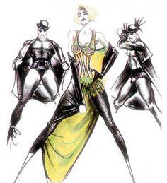 Madonna and Jean Paul Gaultier - Blond Ambition Tour Jean Paul Gaultier, Madonna Fashion, Fashion Art, Madonna Costume, Costume Design Sketch, Corset, Madonna Art, Fashion Sketches, Fashion Illustrations