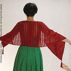 6aa49cd400 Cro-Hook Pinstripe Tube Top and Shrug Free Tunisian Crochet Pattern ...