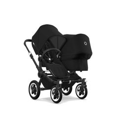 Bugaboo duo extension set base, aluminum or black. Change your bugaboo from a single to a double stroller. Bugaboo Donkey, Bugaboo Stroller, Twin Strollers, Double Strollers, The Sims, Sims 4, Baby Jogger City Select, Single Stroller, Prams And Pushchairs