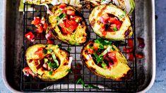 19. Avocado Egg, Zucchini, Sushi, Chili, Salsa, Eggs, Vegetables, Breakfast, Ethnic Recipes