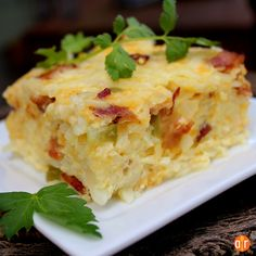 """Easter Breakfast Casserole 