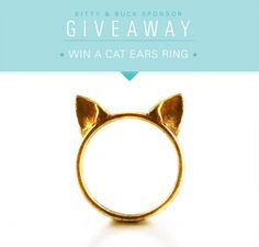 Cat Ears Ring Giveaway!