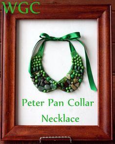 Beaded Peter Pan Collar Necklace