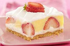 Berried Delight... I actually think using lemon pudding in place of vanilla would be a nice summery touch!