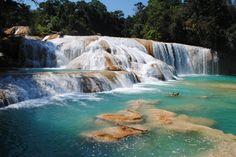 Les cascades Agua Azul, Mexique : Les chutes d'eau les plus spectaculaires du monde - Linternaute.com Voyager
