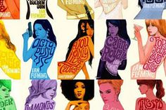 Check out this great series of James Bond fan-made book cover art, each one features a different Bond Girl. The awesome retro style art was elegantly created byMichael Gillette, who put together a great collection of all different types of sexy Bond girls.