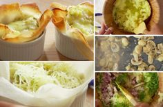 Les tartelettes aux pommes de terre et aux champignons - La Recette