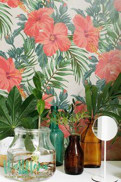 Exotic Pattern Wallpaper - Removable Wallpaper - Exotic Wallpaper - Exotic Wall Sticker - Exotic Wall Decal - Exotic Adhesive Wallpaper - 25