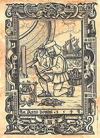 Láminas de Serigrafía con los oficios medievales
