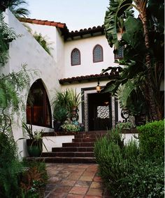 spanish styled house