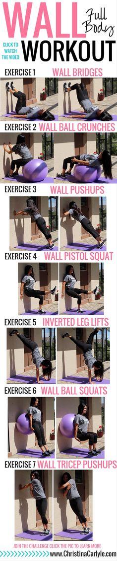 Full Body Wall Workout