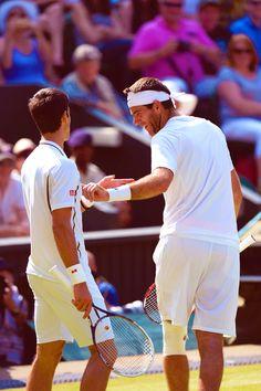 Novak Djokovic Vs Juan Martin del Potro @JugamosTenis #tennis #Wimbledon