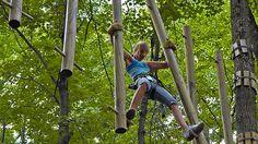 Rope Course Aerial Park / Adventure Parks/Beach / Trips // Urban ...