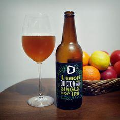 Takie Krafty: Lemon (Single Hop IPA) - Doctor Brew