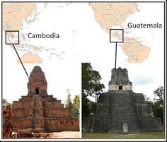 Ancient Temples - Coincidence?  Something's up with these pyramids. :)
