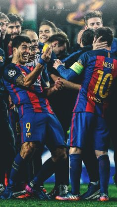 Messi And Neymar, Messi Soccer, Lionel Messi Barcelona, Barcelona Soccer, Fc Barcelona Players, Cr7 Junior, Fc Barcelona Wallpapers, Lionel Messi Wallpapers, Messi Photos