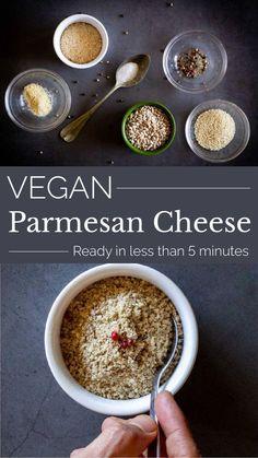 Recipes With Parmesan Cheese, Vegan Parmesan Cheese, Cheese Recipes, Best Party Food, Party Food And Drinks, Delicious Vegan Recipes, Vegetarian Recipes, Healthy Potatoes, Vegan Sauces