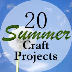 20 Summer Craft Projects