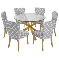 Round Glass Top Dining Table With Wooden Legs Ideas For The House - Round glass dining table with wooden legs