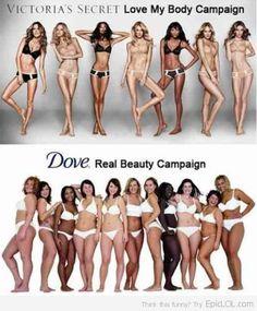 Skinny Girls vs Curvy Girls   Love your healthy body