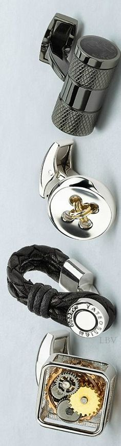 Interesting and unique cufflinks | LBV ♥✤