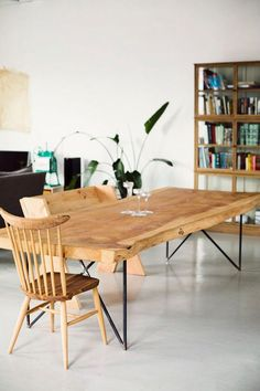 Dossier déco: Idées de tables en bois //A faire soi même ou à acheter//