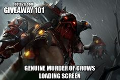 Giveaway 101 - Genuine Murder of Crows Loading Screen