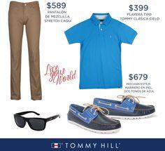 Un verdadero hombre sabe que el mejor atuendo se consigue en Tommy Hill.