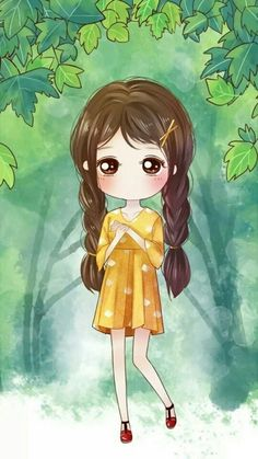 รูปภาพ girl, anime, and beautiful Cartoon Drawings, Cute Drawings, Cartoon Art, Cute Cartoon Girl, Cute Love Cartoons, Cute Girl Illustration, Mode Poster, Cute Girl Wallpaper, Chibi Girl