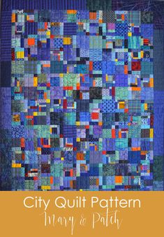 Strip Quilts, Blue Quilts, Scrappy Quilts, Easy Quilts, Christmas Quilt Patterns, Scrap Quilt Patterns, Christmas Quilting, Hand Quilting Designs, Quilting Projects