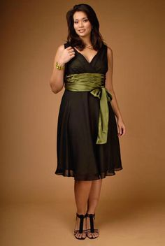 Maggy London Plus Size Bow Dress | Flickr - Photo Sharing!