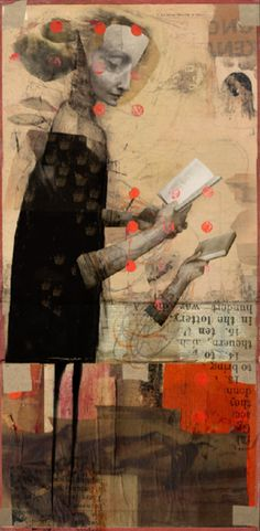 lustración de Lars Henkel Collage- Use varied proportions to tell your concept