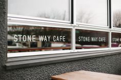Stone Way Cafe has a new identity | ik ben ijsthee blog