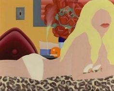 Tom Wesselman, 1931-2004  Great American Nude n. 94 1/2