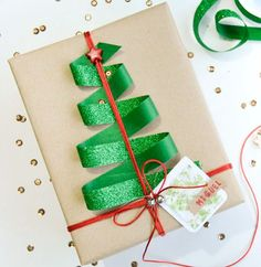 150 Creative Christmas Gift Wrapping Ideas – Prudent Penny Pincher The Effective Pictures We Offer You About DIY Gifts for Creative Christmas Gifts, Christmas Gift Wrapping, Creative Gifts, Christmas Packages, Christmas Present Bow, Cool Christmas Presents, Christmas Gift Cards, Creative Ideas, 2018 Christmas Gifts