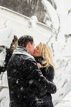 Chicago Winter Engagement Photos!