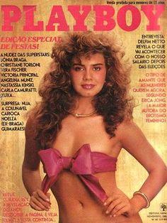 Claudia Rey - Playboy Magazine Cover [Brazil] (November 1982)