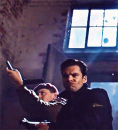 (gif set) Bucky's Extreme Duck Face ||| Captain America --- I just watched the movie and now I have to watch it again and look for this face!!!