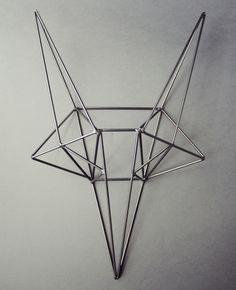 Steel Fox Head by Bongo Design via theabsolution.tumblr.com