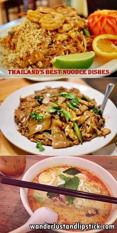 Thailand's Best Noodle Dishes