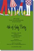 Invite friends for food, fun and fireworks with these fabulous 4th of July invitations from Inviting Company!