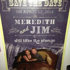 Best Save The Date Ever!!!!