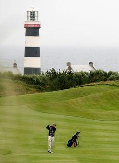 Golfing at the Old Head Golf Links, Kinsale, County Cork, Ireland