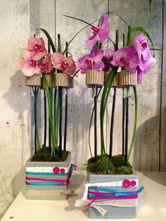 Centre de table orchidée...