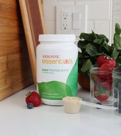 Take your protein to the next level! Daily Protein Boost delivers 10 grams of plant-based protein from pea, rice and cranberry, without any added sugar or flavors, for maximum flexibility. Add a scoop to an Arbonne Essentials Protein Shake, PhytoSport™ After Workout, or to other foods or beverages to increase your daily protein intake. Protein helps support a feeling of fullness, which helps those on a weight management regimen. Daily Protein Intake, Arbonne Essentials, After Workout, Plant Based Protein, Protein Shakes, Weight Management, Healthy Life, Health And Wellness, Nutrition