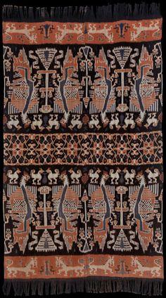 Ikat from East Sumba, Sumba, Indonesia