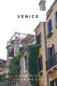 Do you fancy a drink on one of these terraces with a great view on Venice?