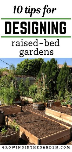 Raised Bed Garden Design Tips Learn how to grow vegetables in raised garden beds with these 10 easy Backyard Vegetable Gardens, Veg Garden, Vegetable Garden Design, Garden Pests, Garden Tools, Organic Vegetables, Growing Vegetables, Growing Plants, Gardening Vegetables