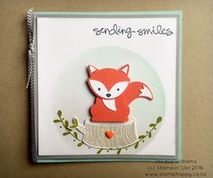 What fun to play with new punches, stamps and accessories! Today's share is the new Foxy Friends bundle, including a 29 piece stamp set and a punch! Not just for fox, I've seen raccoon,…