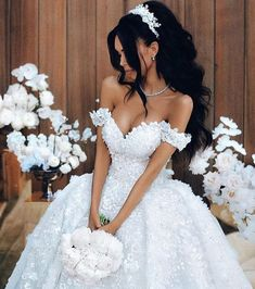 Off The Shoulder Appliques Luxury Wedding Dresses Princess Ball Gown Sexy Bride Dress 2018 & www.babyonlinewho& The post Off The Shoulder Appliques Luxury Wedding Dresses Princess Ball Gown Sexy Bride & appeared first on Fox. Luxury Wedding Dress, Dream Wedding Dresses, Bridal Dresses, Wedding Gowns, Wedding Outfits, Wedding Venues, Bridesmaid Dresses, Casual Wedding, Princess Ball Gowns